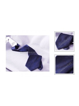 Shadow Dragon Pure Silk Tie---Navy