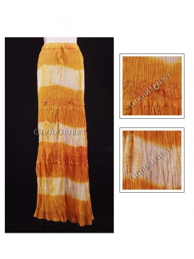 Fresh Sun Yellow Nepal Skirt