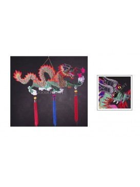 Big Chinese Dragon Hanging Decoration---Green
