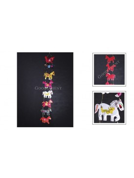 Colorful Horses Hanging Decoration