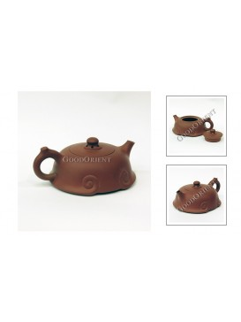 Lucky Clouds Purple Sand Teapot
