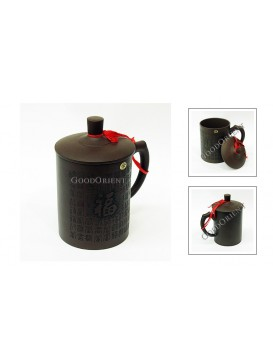 Hundred Fortune Characters Purple Sand Tea Cup