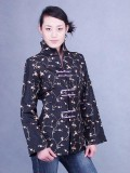 Embroidered Black Thai Silk Jacket