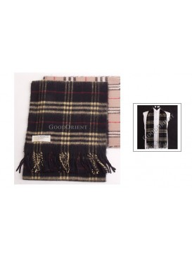 Classic Scottish Style Cashmere Scarf
