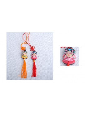 Ching Yi Polymer Clay Cellphone Chain