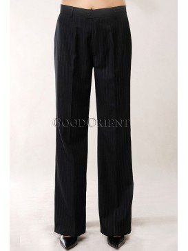 Office Lady Thin Wool + Terylene Trousers