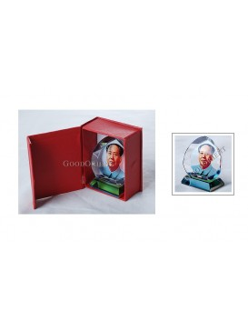 Chairman Mao Imitated Crystal Decoration