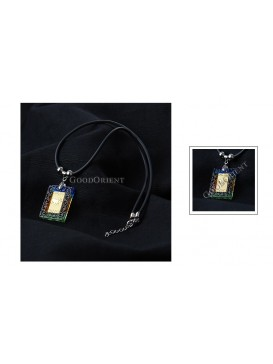 Chinese Zodiac Colored Glaze Necklace---Sheep