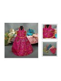 Qing Dynasty Princess Dress Wine Bottle Cover