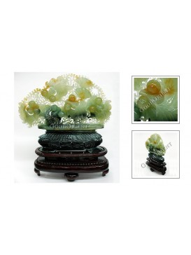 Treasures Fill the Home Jade Decoration