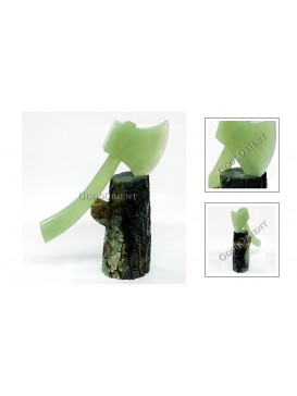 Treasure Axe Protecting Home Jade Decoration