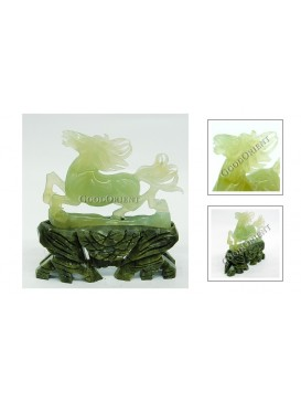 Leaping Horse Jade Decoration