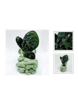 Wish You A High Official Jade Decoration