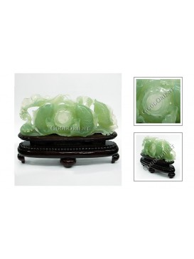 Many Carps Jade Decoration