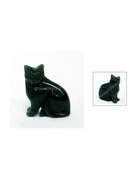 Small Jade Decoration Series---Dark Kitty