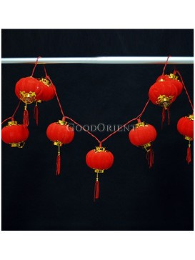 Chinese Red Small Light Lanterns