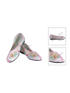 Chinese Traditional Embroidery Shoes---Pink