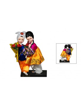 To Hold Your Hand To Grow Old With You---Holding Hands Korea Dolls Set