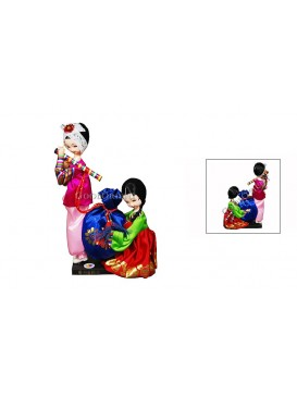 To Hold Your Hand To Grow Old With You---Working Korea Dolls Set