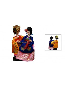 To Hold Your Hand To Grow Old With You---Korea Wedding Dolls Set
