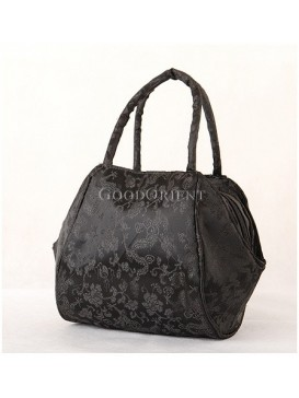 Shadowed Dragon Brocade Bag