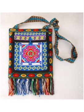 Miao Style Cross-stitch Shoulder Bag