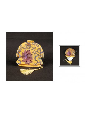Multi-purpose Chinese Traditional Jacket Coin Bag