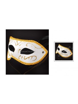 Prince of Darkness Eye Mask---White