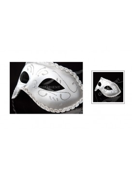 Prince of Darkness Eye Mask---Silvery
