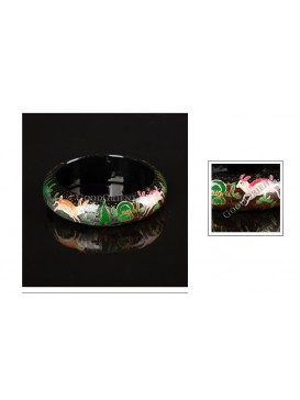 Forest Dream Wooden Bangle