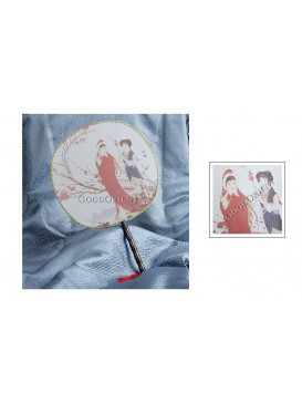 Round Palace Silk Fan---Xue Baoqin