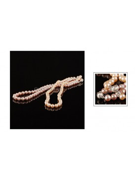 Sweet Round Pearl Necklace