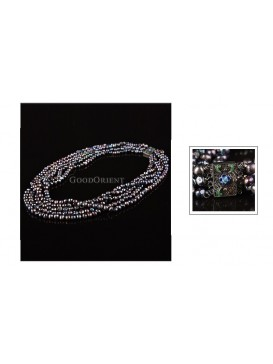 Gloria Black Pearl Necklace