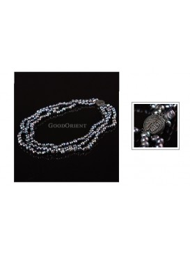Good Fortune Black Pearl Necklace
