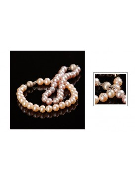 Round Colorful Pearl Bracelet