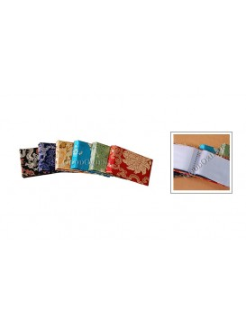 Six Colors Brocade Card Holder