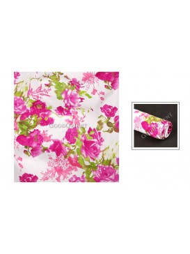 Fuchsia Rose Cotton Fabric