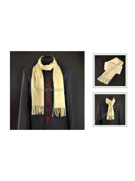 Thick Yellow Woolen Scarf