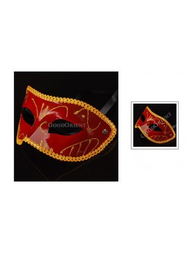 Prince Of Darkness Eye Mask---Red