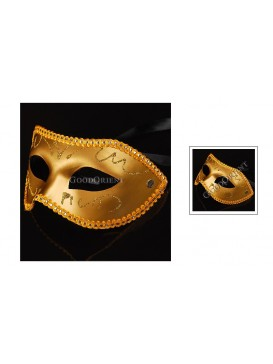 Prince Of Darkness Eye Mask---Yellow