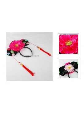 Girl Hair Decoration---Fuchsia