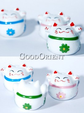 Porcelain Fortune Cats
