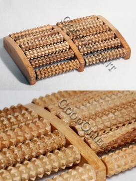 Healthy Wooden Body And Foot Massage Roller