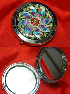Floral Windmill Classical Mirror
