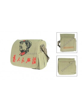 Chairman Mao Shoulder Bag---Serve the People