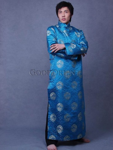 Dragon Icon Long Chinese Clothing
