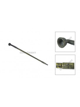 Oriental Bronze Opium Pipe--Large