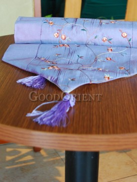 Lavender Plum Blossom Table Runner