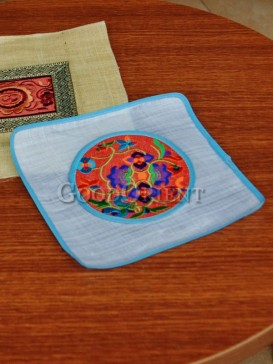 Gorgeous Square Embroidery Coaster