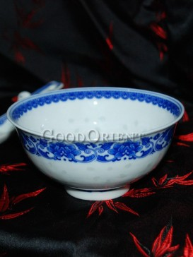 Simple But Elegant Chinese Porcelain Blue And White Bowl